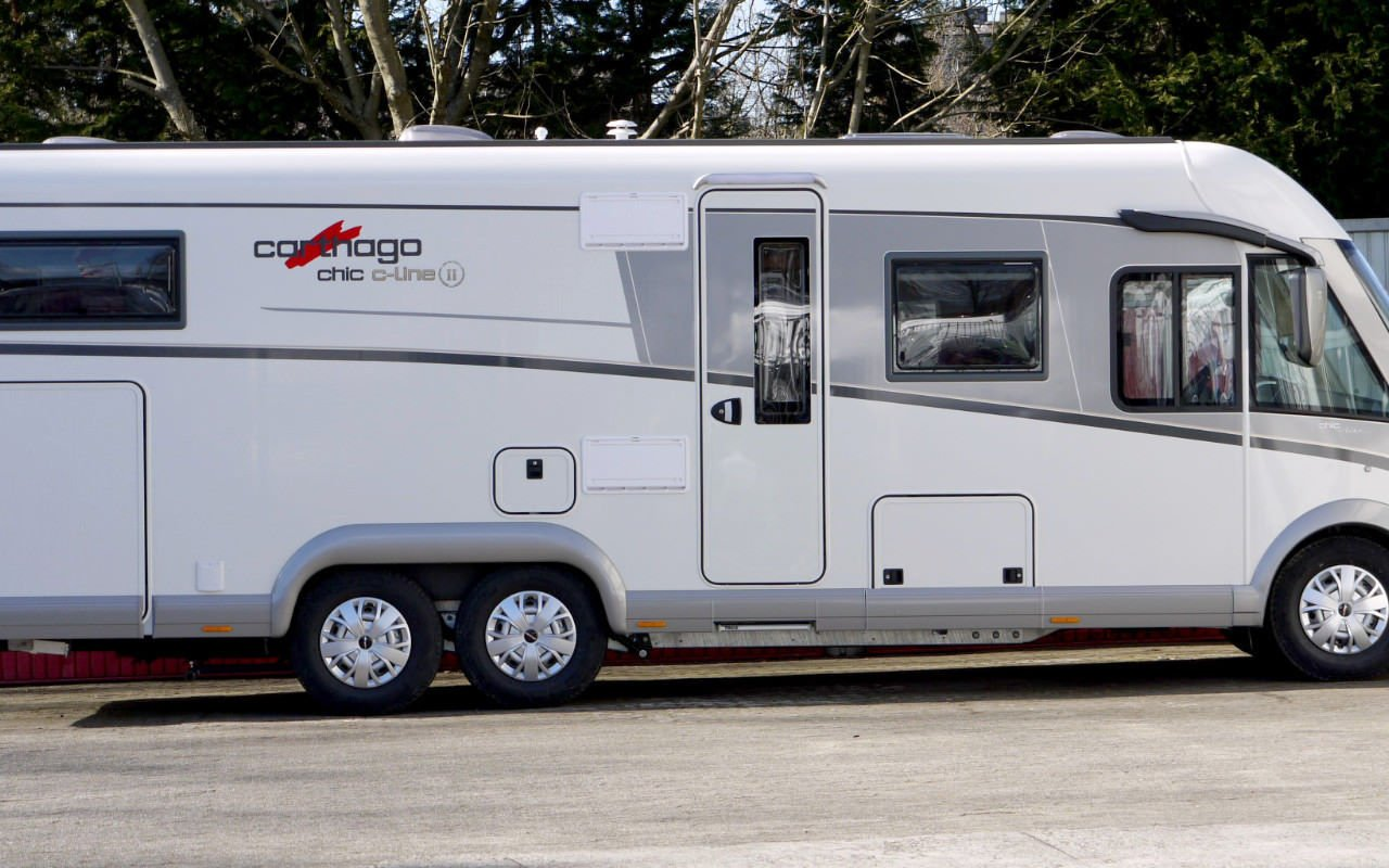 Teilintegrierter CARTHAGO chic c-line  T 4.9. Modell 2018 bei Caravan-Herrmann in Mülheim an der Ruhr
