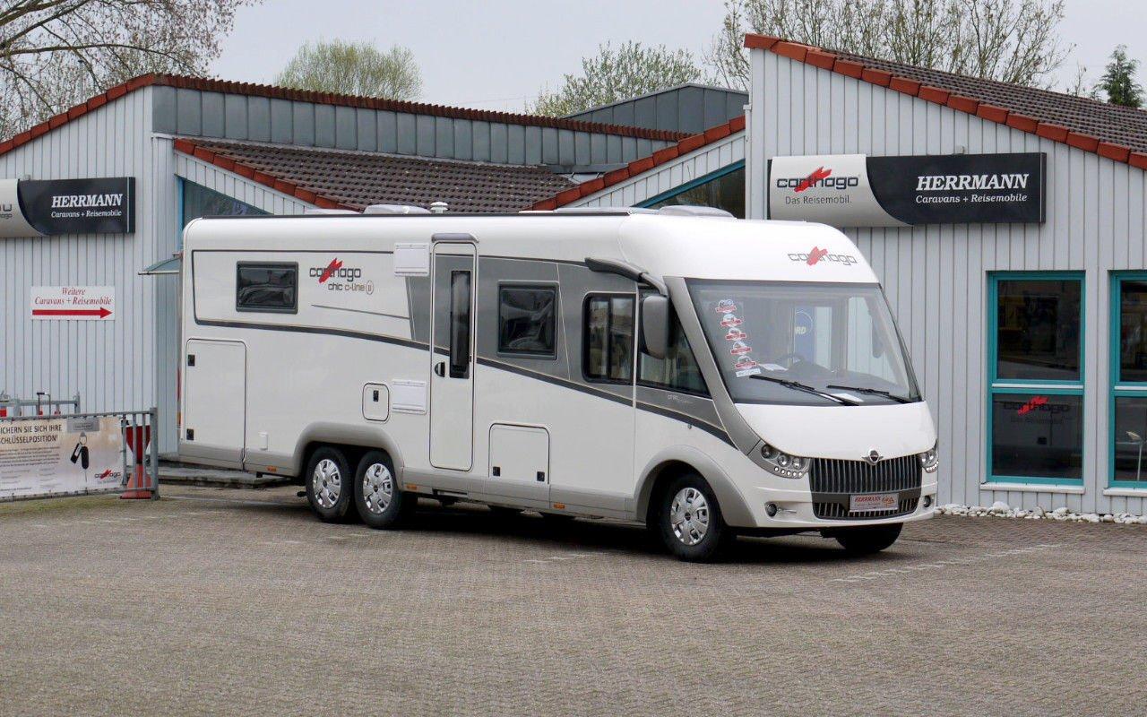 Integrierter CARTHAGO chic c-line  I 4.8. Modell 2018 bei Caravan-Herrmann in Mülheim an der Ruhr