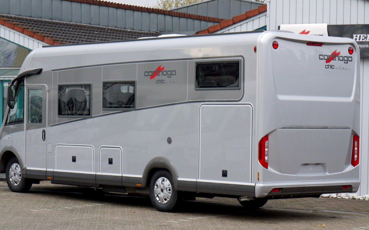 Integrierter CARTHAGO chic s-plus I 52 bei Caravan-Herrmann in Mülheim an der Ruhr