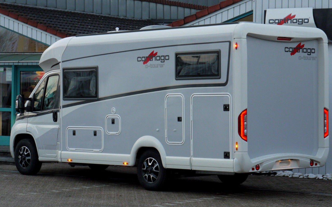 Integrierter CARTHAGO c-compactline I 143. Modell 2018 bei Caravan-Herrmann in Mülheim an der Ruhr