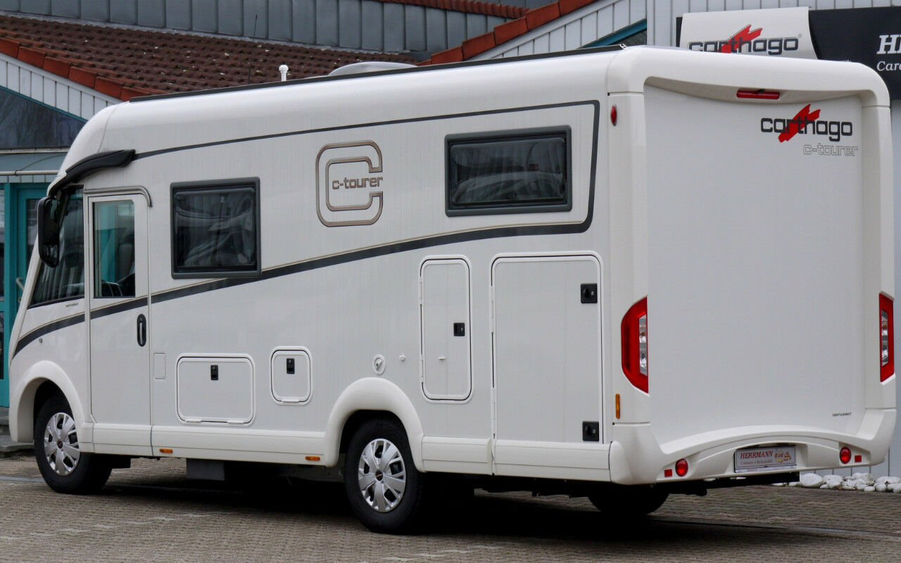 Integrierter CARTHAGO c-tourer I 141 LE. Modell 2019 bei Caravan-Herrmann in Mülheim an der Ruhr
