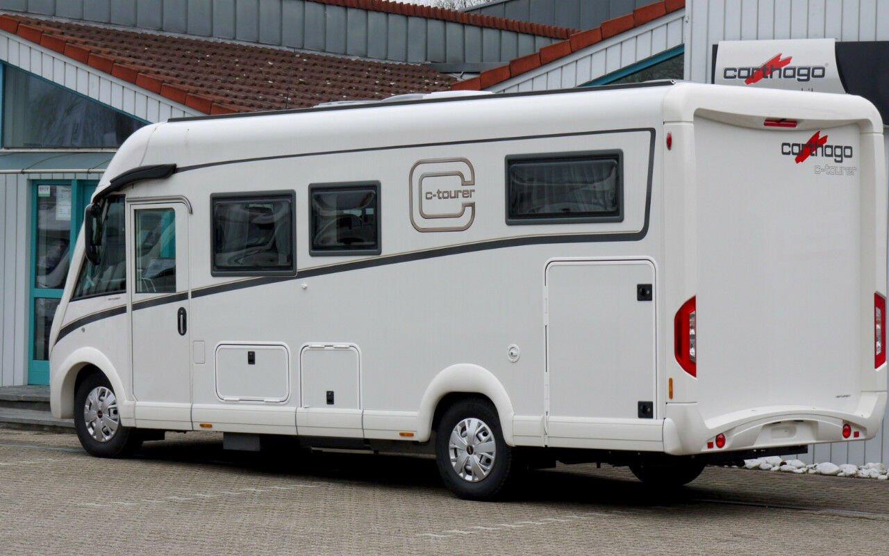 Integrierter CARTHAGO c-tourer I 144 LE. Modell 2019 bei Caravan-Herrmann in Mülheim an der Ruhr
