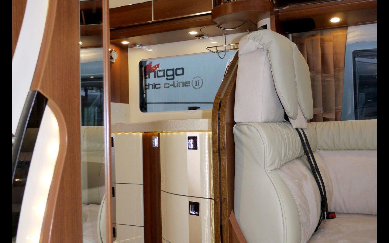 Integrierter CARTHAGO chic e-line I 51 QB. NPE: 147.995,-- ¤ bei Caravan-Herrmann in Mülheim an der Ruhr