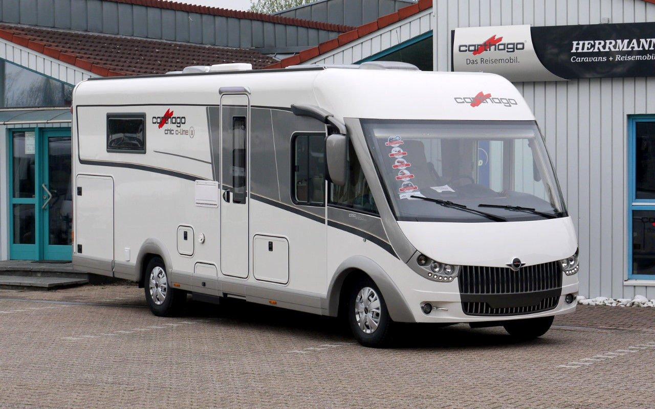 Integrierter CARTHAGO chic c-line  I 5.0 bei Caravan-Herrmann in Mülheim an der Ruhr